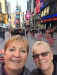 Cheryl and Sue in NYC